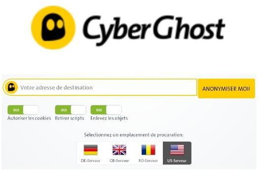 Logiciel gratuit Proxy CyberGhost VPN Fr 2014 en ligne Licence gratuite dans 2014